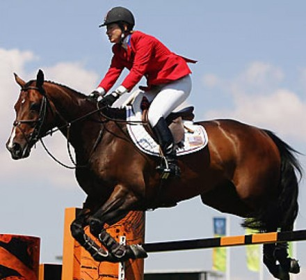 Equestrian athlete/Image courtesy of hpls.org.