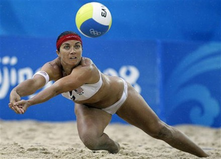 Misty May Treanor; Image courtesy of thelifeofluxury.com.