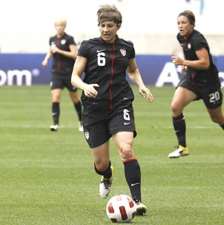 Amy Lepeilbet has overcome injuries to make it to Team USA. (Image courtesy of sportsvuesoccer.com.)